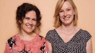 Annabel Crabb and Leigh Sales are the women of Chat 10, Looks 3.