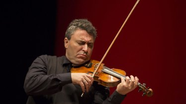 Maxim Vengerov plays Musica Viva's anniversary concert.