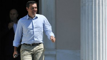 Greek Prime Minister Alexis Tsipras is set to announce his resignation, a government official says.