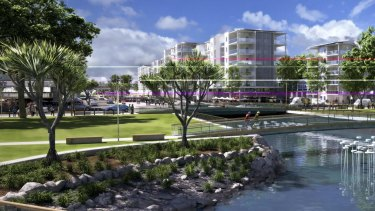 Sunshine Coast Mayor Mark Jamieson says the planned Maroochydore CBD will be the envy of communities worldwide.