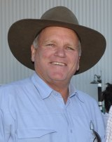 Andrew Lewis, mayor of Bourke, is frustrated by the lack of healthcare services in western NSW.
