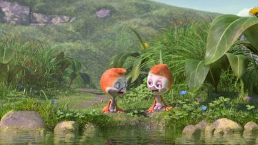 Plovers are the stars of the new animation Flying the Nest.