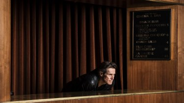 Dafoe loves auteurs, people who have ownership of the script. The more extreme the auteur, the more he enjoys the work.