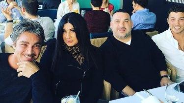 John Ibrahim and his business partner Margaret Staltaro.