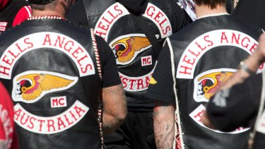 Three Hells Angels motorcycle gang members were arrested alongside a Canadian national, in the Thai tourist district of Pattaya.