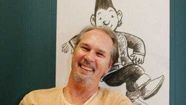 Kim Gamble came up with the idea to make Tashi a magical elf rather than an ordinary boy.