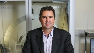 CSIRO chief executive Larry Marshall, grilled over large-scale staff cuts.