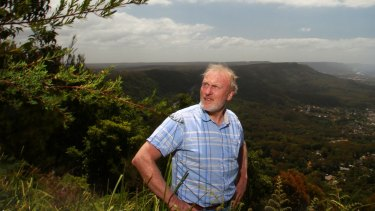 Professor Ross Bradstock, a bushfire expert at the University of Wollongong.