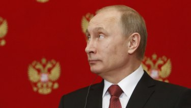 Russian President Vladimir Putin on March 5.
