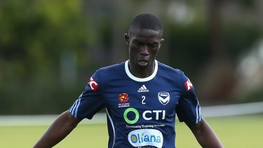 Olyroos call-up: Jason Geria is one of five Victory players named in Aurelio Vidmar's 23-man squad.