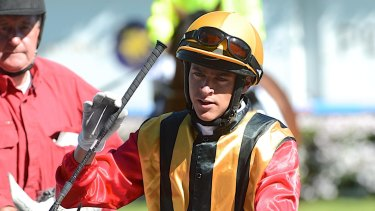 Ominous warning: Jockey Nick Hall said Japanese raider World Ace could run away with the George Ryder Stakes.