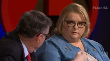 Magda Szubanski's powerful exchange with Anglican Archbishop Glenn Davies.