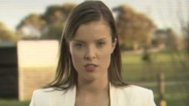 Amy Taeuber, a 27-year-old former Seven Network cadet journalist in Adelaide, who alleged she was sacked after complaining about the inappropriate behaviour of a senior male colleague.