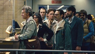 A scene from <i>Argo</i>, a film directed by Ben Affleck about Iran hostage crisis.