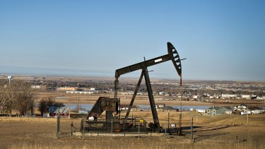 Under the pump: Oil prices have lost more than 40 per cent since June.