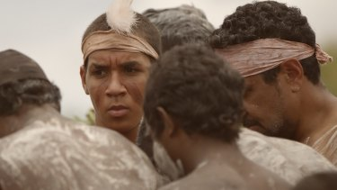 Going through his initiation: Zach Doomadgee in <i> Zach's Ceremony</i>.
