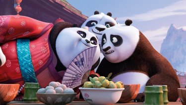 Jack Black returns to voice Po in <i>Kung Fu Panda 3</i>.