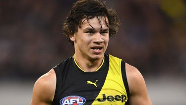 Daniel Rioli has signed a new deal with Richmond.