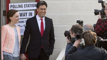 Drubbing: Exit polls indicate Labour leader Ed Miliband will lose the election.