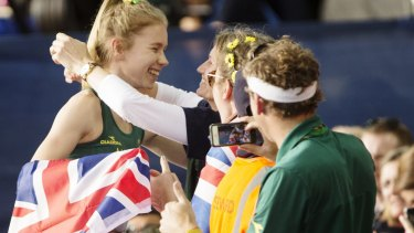 Eleanor Patterson is the first Australian gold medallist in this event since 1994.