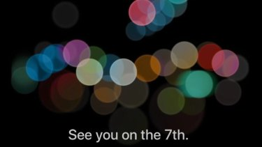 Apple's invite to next week's event, which will take place at 3am September 8, AEST.