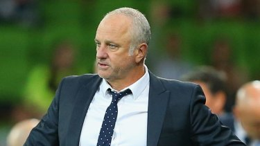 Bullish: Graham Arnold believes his goalkeeper will have a quiet night.