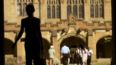 Only 35 per cent of academics at the University of Sydney feel their job is secure.
