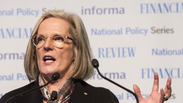 Lucy Turnbull, the chief commissioner of the Greater Sydney Commission.