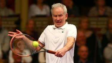 "John McEnroe described Nick Kyrgios' performance on Wednesday night ""a black eye for the sport""."