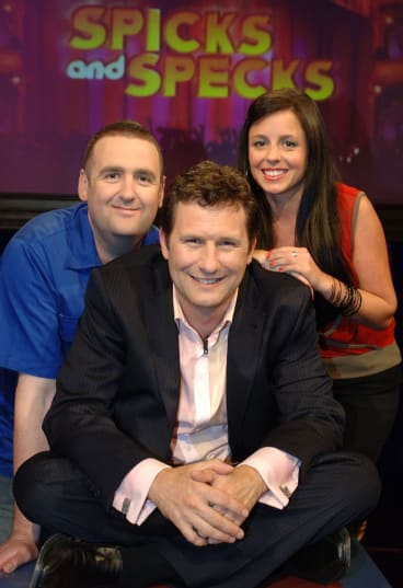 Alan Brough, Adam Hills and Myf Warhurst return to the small screen for a Spicks and Specks reunion.