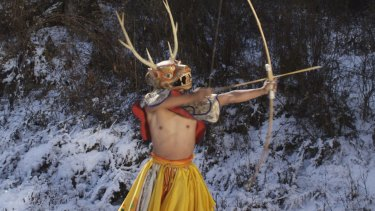 National sport in Bhutan ... <i>Arrows the Thunder Dragon</i>.