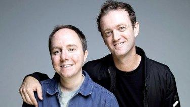 The Little Dum Dum Club's Tommy Dassalo and Karl Chandler.
