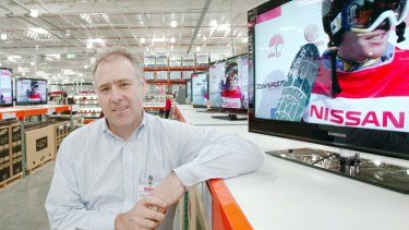 Patrick Noone says Costco is competing well with Coles and Woolworths.