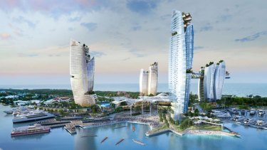 The rejection of ASF's proposal for a new $3 billion casino resort at Southport Spit was popular with attendees.