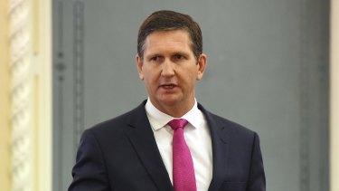 Opposition Leader Lawrence Springborg.