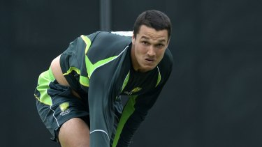 Nathan Coulter-Nile's selection raised a few eyebrows.