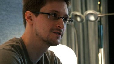 Edward Snowden finds a willing audience in the tech community.