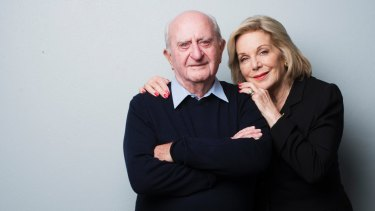 Ita Buttrose and her uncle Gerald Buttrose.