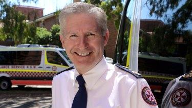 NSW Ambulance Chief Executive Dominic Morgan