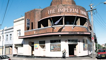Sold: The iconic Imperial Hotel in Erskineville was twice shut down by authorities.