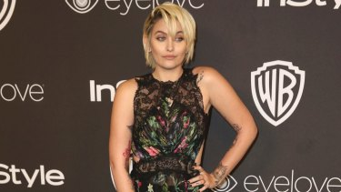 Paris Jackson at a Golden Globes afterparty on January 8.