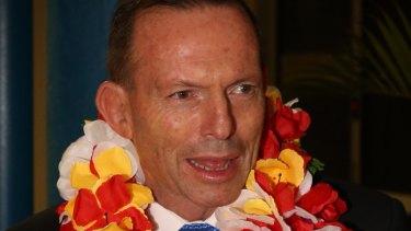 Party boy Tony Abbott.