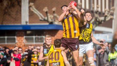 Catapult is targeting high-level amateurs in competitions such as the VFL.