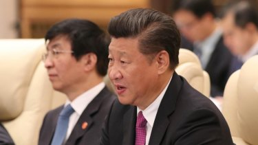 Chinese president Xi Jinping wants 'fairness' on Australia's investment rules.