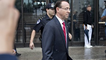 Rod Rosenstein, deputy attorney general, has appointed a special counsel to investigate possible Russian interference in the election.