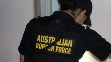 Acting Border Force Commissioner Michael Outram said agencies needed to co-operate to gather information about parcels before they arrived in Australia.