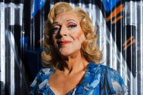 Frock and awe: Tony Sheldon steals the show after more than 1800 performances in Priscilla.