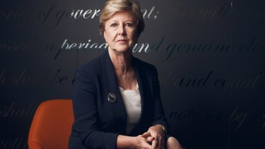 The president of the Australian Human Rights Commission, Gillian Triggs, is a distinguished and highly respected lawyer.