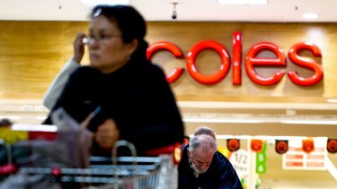Coles' sales in the last quarter were effectively flat, up just 0.3 per cent.