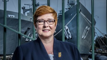 Senator Marise Payne, the 11th Minister of Defence in 15 years.